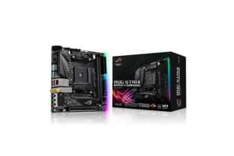 ASUS ROG STRIX B450-I GAMING Mini ITX Motherboard AMD B450 Chipset For AMD Ryzen Socket AM4. 2X