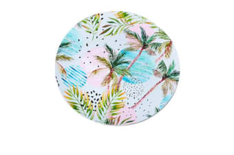 Kitchen Warehouse Summer Charger Plate 33cm Palm Tree