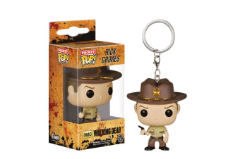 The Walking Dead Rick Bloody US Pocket Pop! Keychain
