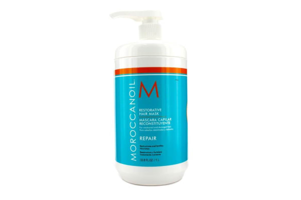 Moroccanoil Restorative Hair Mask - For Weakened and Damaged Hair (Salon Product) (1000ml/33.8oz)