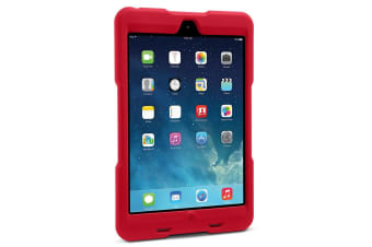 Kensington Red BlackBelt 1st Degree Rugged Rubber Case Protection for iPad Mini