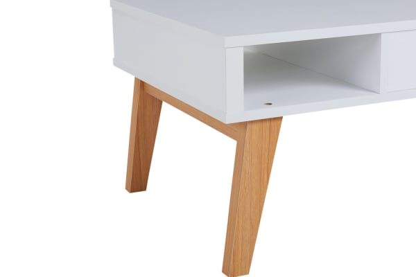 Ovela Coffee Table - Finse Collection (White)