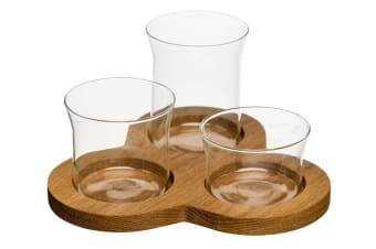 Sagaform Oval Oak Serving Set