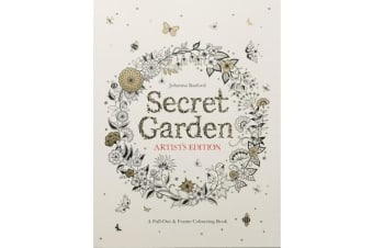 Secret Garden Artist's Edition: A Pull-Out and Frame Colouring Book - A Pull-Out and Frame Colouring Book