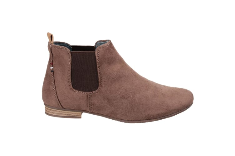 Divaz Womens/Ladies Pisa Slip On Ankle Boots (Taupe) (5 UK)