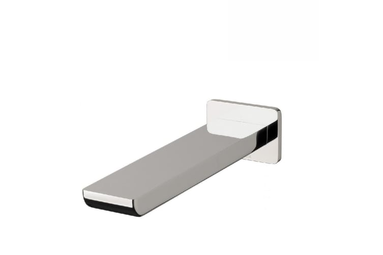 Phoenix Gloss Wall Bath Outlet 180mm Chrome GS776 CHR