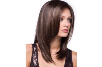 Women fashion Middle Length Hair Wigs 68