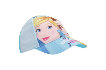 Disney Princess Childrens/Girls If You Can Dream It You Can Do It Baseball Cap (Blue/Yellow)
