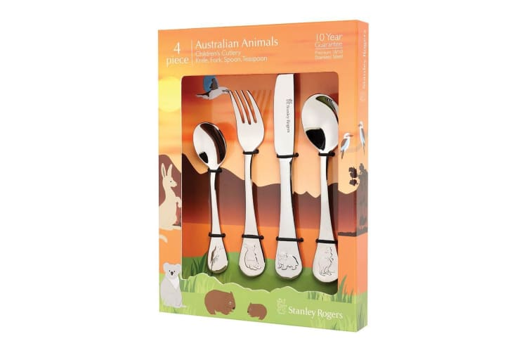 Stanley Rogers Childrens Cutlery Australian Animals Set of 4