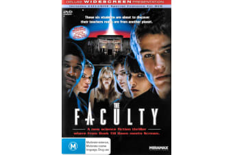 The Faculty - Region 4 Rare- Aus Stock DVD PREOWNED: DISC LIKE NEW