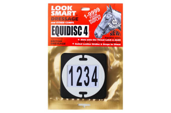 Equidisc 4 Number Disc (White) (One Size)