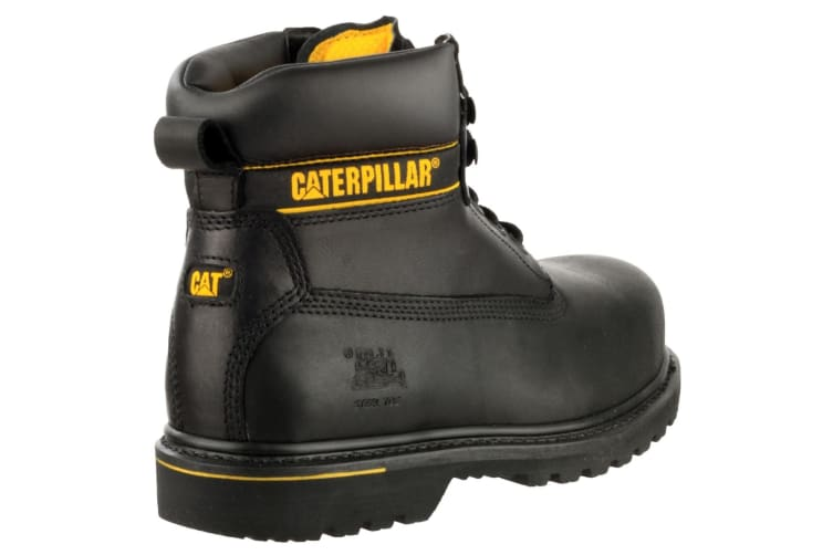 Caterpillar Holton S3 Safety Boot / Mens Boots / Boots Safety (Black) (12 UK)