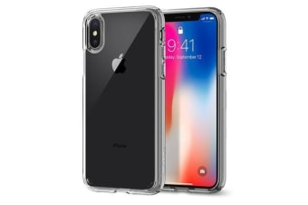Spigen iPhone X Ultra Hybrid Case Crystal Clear
