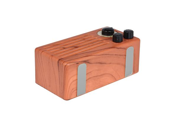 Bluetooth V2.1 +Edr Wireless Radio Stereo Speaker Rechargeable Usb Tf Fm Rosewood