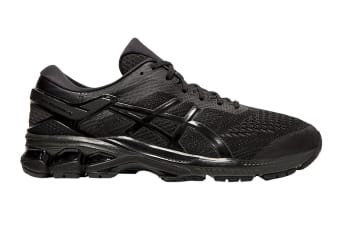 ASICS Men's Gel-Kayano 26 (2E) Running Shoe (Black/Black)