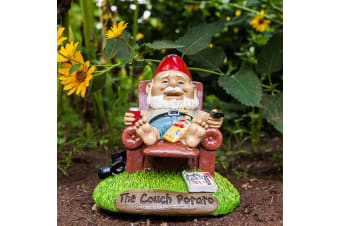 The Couch Potato Garden Gnome | Hilarious Quirky Lazy Gnome!