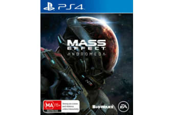 Mass Effect: Andromeda PS4 PlayStation 4 GAME BRAND NEW SEALED