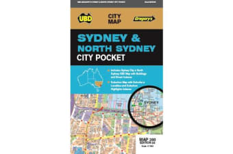Sydney & North Sydney Pocket Map 260 22nd ed