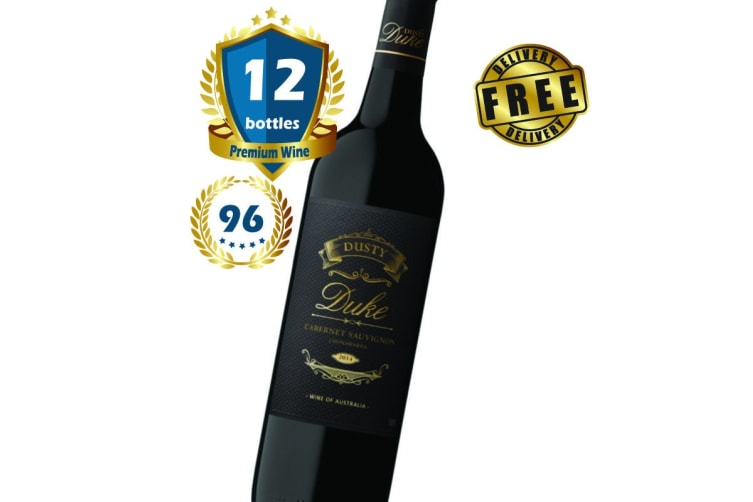 12 Bottles of 2014 Dusty Duke Cabernet Sauvignon 750ML