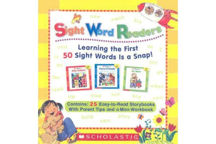 Sight Word Readers Boxed Set - Learning the First 50 Sight Words Is a Snap!