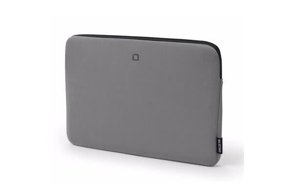 """Dicota Skin BASE Sleeve Bag for 10""""-11.6""""  Notebook /Laptop (Grey) Suitable  for Ultrabook"""