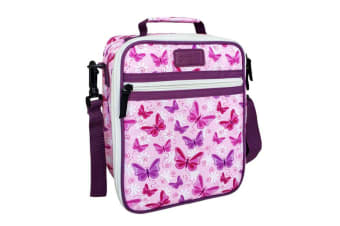 Sachi Style 225 Insulated Junior Lunch Tote Butterflies