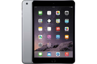 Used as demo Apple iPad Mini 64GB Wifi + Cellular Black (100% Genuine)