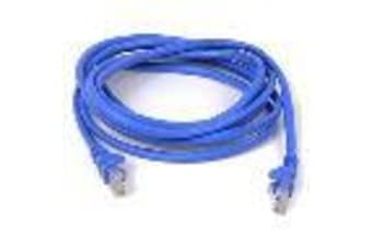 BELKIN 5M CAT5E SNAGLESS PATCHCABLE, BLUE