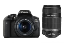 Canon EOS 750D DSLR 18-55mm IS STM & 55-250mm IS II Lens Kit