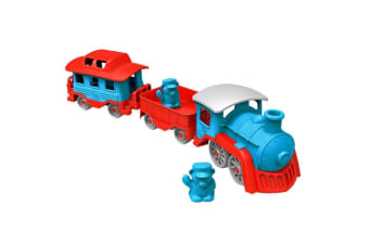 Green Toys Train in Blue
