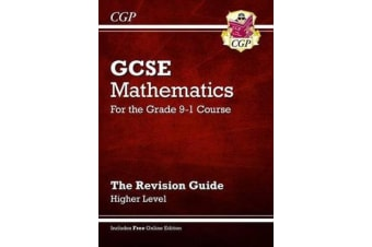 GCSE Maths Revision Guide - Higher - for the Grade 9-1 Course (with Online Edition)