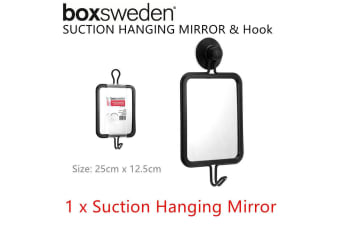 Strong Suction Wall Hanging Mirror Decor Bathroom Shower Makeup Bedroom Hook