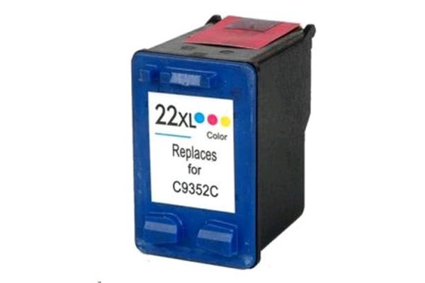 Generic 22XL HP Compatible Eco High Capacity Ink Cartridge - Colour