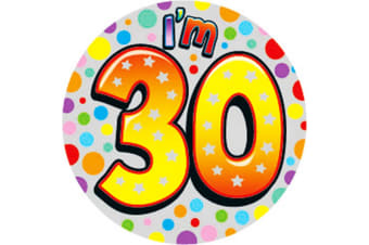 Expression Factory Birthday Badge (Multicoloured)
