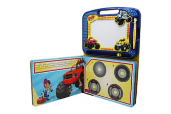 Blaze And The Monster Machines - Learning Book with Magnetic Drawing Pad