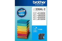 Brother LC-235XL Cyan Ink 1200 Page, J4120/4620/5720DW