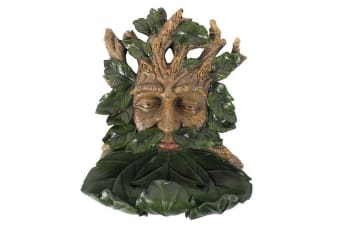 Something Different Large Green Man Bird Feeder (Brown/Green) (One Size)