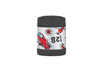Thermos Funtainer Insulated Food Jar 290ml Firetruck