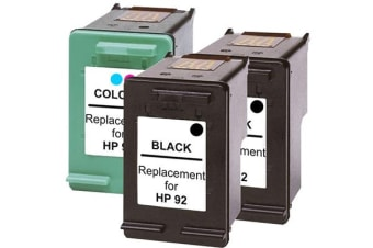 #92 Compatible Inkjet Cartridge Set with Extra Black