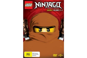 LEGO Ninjago Season 2 Volume 2 Part 2 / Volume 3 Part 1 DVD Region 4