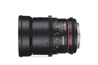 New Samyang 35mm T1.5 AS UMC VDSLR MK II for Canon (FREE DELIVERY + 1 YEAR AU WARRANTY)