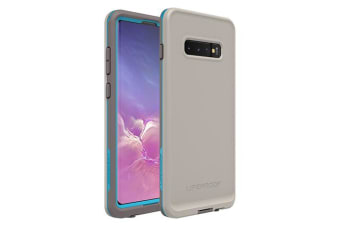Lifeproof Galaxy S10+ S10 Plus FRE Case Waterproof Dirtproof Snowproof Dropproof Cover for Samsung - Grey & Blue Body Surf