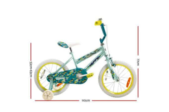 "Huffy 16"" Inch Kids Children Gils Bike Bicycle With Training Wheel Ride On Toy"
