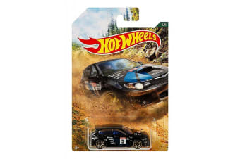 Hot Wheels Backroad Rally Subaru WRX STI Diecast Car