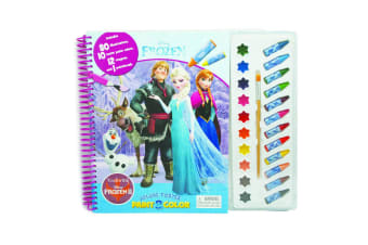 Disney Frozen Deluxe Poster Paint & Colour
