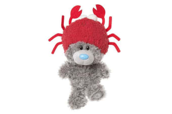 """Me To You My Dinky Bear 9"""" Wearing - Crab Hat"""