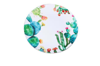 Kitchen Warehouse Summer Charger Plate 33cm Cactus