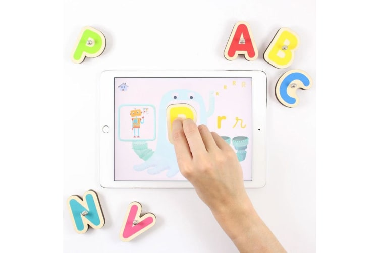 Marbotic Smart Wooden Letters 3y+ Kids/Children Educational Toy for Apple iPad