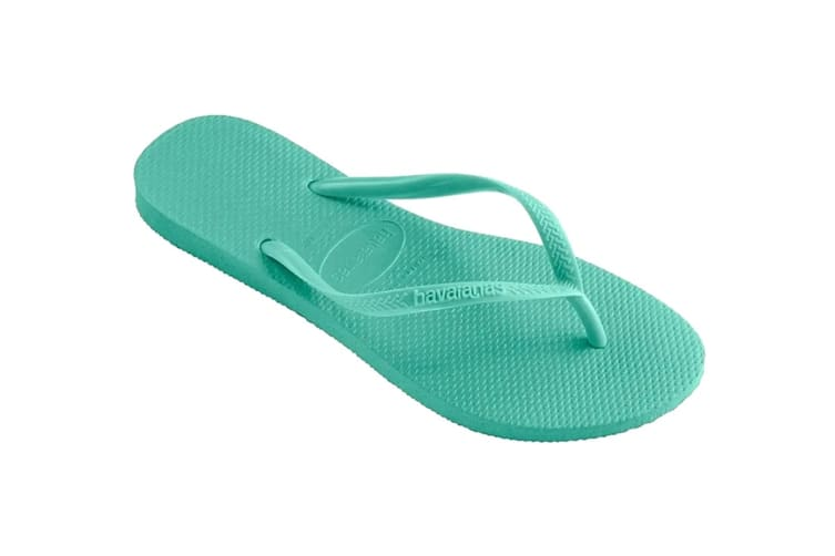 Havaianas Slim Thongs (Dew Green, Size 35/36 BR)