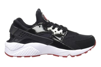 Nike Men's Air Huarache Running Shoe (Black/Gym Red, Size 7.5)